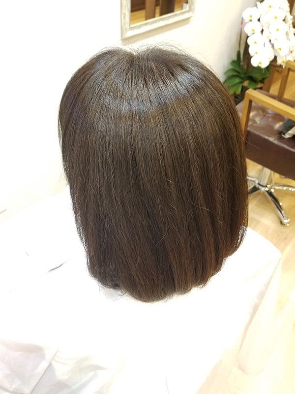 住吉区の美容室LUMORE HAIR STYLE カラー+髪のお掃除(エイジレス艶カラー)