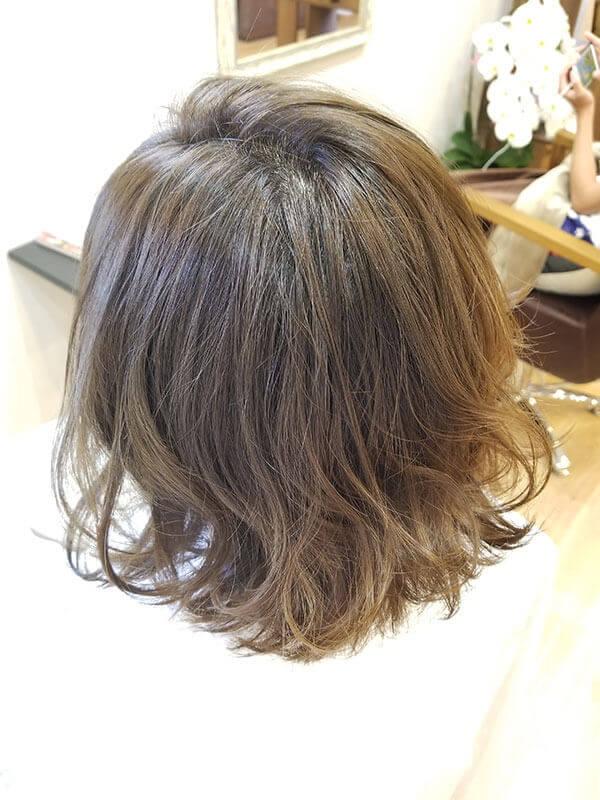 住吉区の美容室LUMORE HAIR STYLE カット+カラー+髪のお掃除(エイジレス艶カラー)