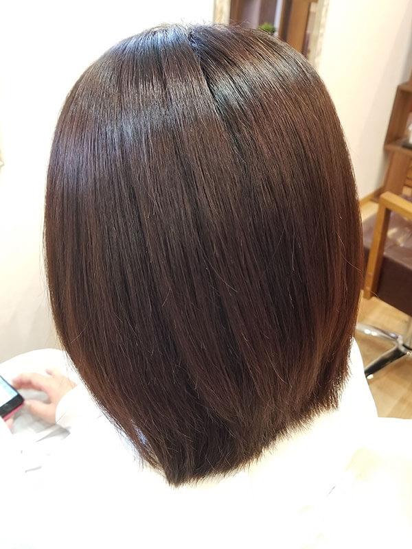 住吉区の美容室LUMORE HAIR STYLE カット+髪のお掃除
